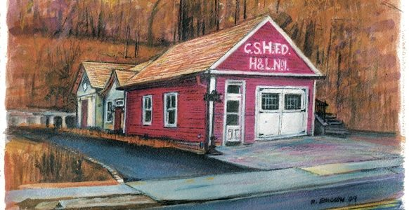 Cold Spring Harbor Fire House